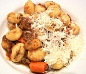 Gnocchi-Gericht